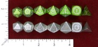 Dice : MINT47 ULFSARK GAMES POLYHEDRAL DRAGON SCALES ELVEN