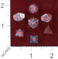 Dice : MINT41 CRYSTAL CASTE SILVER
