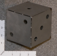 Dice : MINT25 UKNOWN STAINLESS STEEL 01