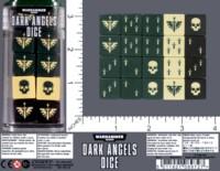 Dice : MINT59 GAMES WORKSHOP WARHAMMER 40000 DARK ANGELS