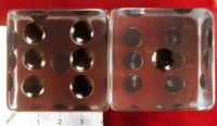 Dice : MINT24 UNKNOWN HUGE CLEAR D6 01
