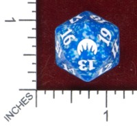 Dice : D20 OPAQUE ROUNDED SPECKLED WIZARDS OF THE COAST MTG ORGINS 03