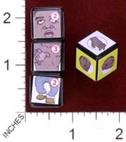 Dice : MINT30 PRINT AND PLAY PRODUCTIONS CHUNKY FIGHTERS ZOMBIE 01