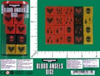 Dice : MINT59 GAMES WORKSHOP WARHAMMER 40000 BLOOD ANGELS