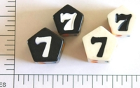 Dice : D07 OPAQUE SHARP SOLID