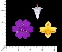Dice : MINT57 SHAPEWAYS GEOMETRIC PRECISION FLOWERS