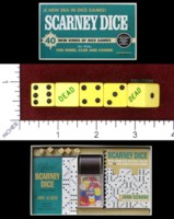 Dice : MINT48 JOHN SCARNE GAMES SCARNEY DICE