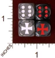 Dice : MINT30 JSPASSNTHRU MALTESE CROSS 01
