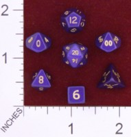 Dice : MINT23 CRYSTAL CASTE METAL PURPLE