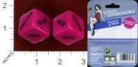Dice : MINT34 PALADONE LOVERS DECISION DICE