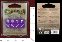 Dice : MINT40 FANTASY FLIGHT BATTLELORE SECOND EDITION DICE PACK
