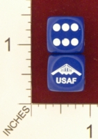 Dice : MINT21 CHESSEX FOR JSPASSINTHRU UNITED STATES AIR FORCE USAF 01