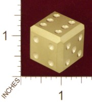 Dice : MINT21 ACE PRECISION BRASS PIPPED