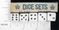 Dice : MINT1 UNKNOWN 5 06 BISQUE JAPAN