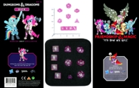 Dice : MINT58 HASBRO DUNGEONS AND DRAGONS MY LITTLE PONY