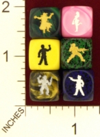Dice : MINT21 KING ZOMBIE SURVIVOR DICE