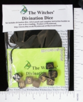 Dice : MINT14 WYTFCHWOOD WITCHES DIVINATION DICE 01