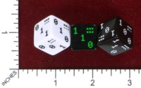 Dice : MINT46 ANDREW NGAI BINARY DICE