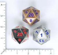 Dice : MINT61 NORSE FOUNDRY METAL BOULDERS