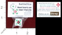 Dice : MINT44 BATTLESCHOOL BATTLEDICE WOUND SEVERITY AND SNIPER EFFECTS