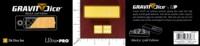 Dice : MINT50 ULTRA PRO MANIC DESIGNS GRAVITY GOLD