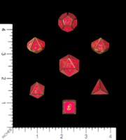Dice : MINT61 UNKNOWN CHINESE ZINC ITALIC RECESSED FACES WITH ENAMEL 03