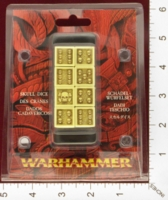 Dice : MINT24 GAMES WORKSHOP WARHAMMER SKULL DICE