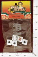 Dice : MINT25 QUALITY MOP AND BROOM MAMA ELVIRA CUBILETE POKER 01
