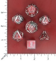 Dice : MINT52 NORSE FOUNDRY FLOATING FACE DEMONS BLOOD