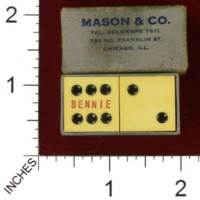 Dice : MINT32 MASON AND CO BENNIE 01