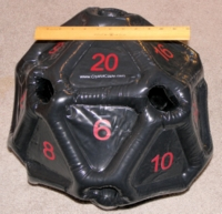 Dice : MINT29 CRYSTAL CASTE INFLATABLE D20 01