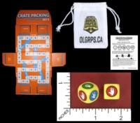 Dice : MINT53 LOOT CRATE ROCK PAPER SCISSORS CRATE PACKING 2015