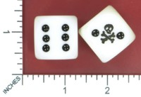 Dice : MINT51 UNKNOWN SKULL AND CROSSBONES