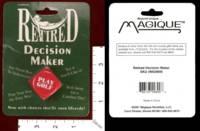 Dice : MINT29 MAGIQUE NOVELTIES RETIRED DECISION MAKER 01