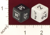 Dice : MINT18 GAMESTATION FOR JENNEFER ASPERHEIM MATH DIE 01
