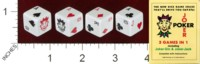 Dice : MINT38 PLAYTHINGS LTD JOKER POKER