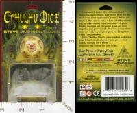 Dice : MINT25 STEVE JACKSON GAMES CTHULHU DICE 03