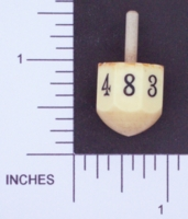 Dice : D08 OPAQUE ROUNDED SOLID 01