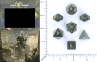 Dice : MINT55 NORSE FOUNDRY HEMATITE