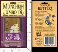 Dice : MINT28 STEVE JACKSON MUNCHKIN JUMBO D6 06