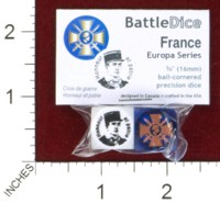 Dice : MINT44 BATTLESCHOOL BATTLEDICE EUROPA SERIES FRANCE