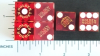Dice : CASINO GOLDEN NUGGET 01