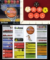 Dice : D12 OPAQUE ROUNDED SOLID GOZONE GOHOOPS 01