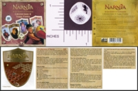 Dice : NON NUMBERED OPAQUE ROUNDED SOLID CARTA MUNDI THE CHRONICLES OF NARNIA THE LION THE WITCH AND THE WARDROBE LIBERATION GAME 01