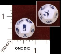 Dice : D12 OPAQUE ROUNDED SOLID GLITCH GIANTS 01