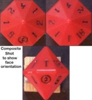 Dice : D16 OPAQUE SHARP SOLID METASCAPE COMPOSITE