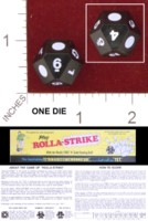 Dice : D14 OPAQUE SHARP SOLID ROLLA STRIKE