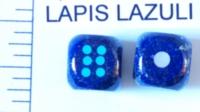 Dice : STONE D6 LAPIS