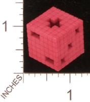 Dice : MINT28 SHAPEWAYS MCTRIVIA HOLLOW 8BIT 01
