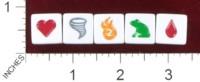 Dice : MINT39 POTLUCK GAMES DUNGEON DICE SPELLS